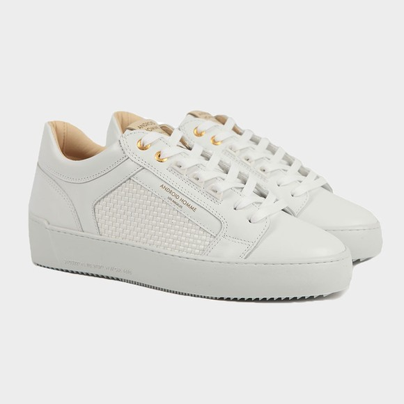 Android Homme Mens White Venice Trainer