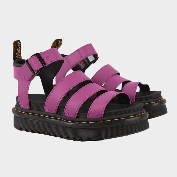 Dr. Martens Womens Purple Blaire Sandal