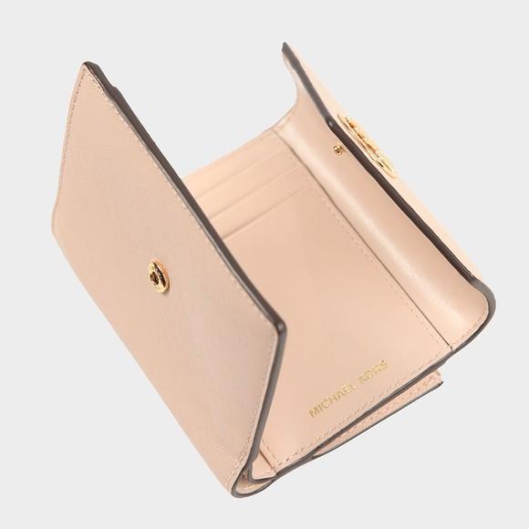 Michael Kors Womens Pink Carmen Tri Fold Purse main image