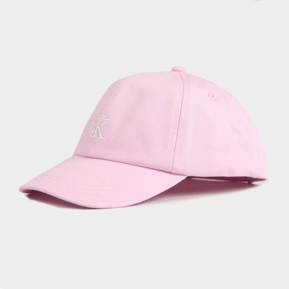 Calvin Klein Jeans Girls Pink Monogram Baseball Cap main image