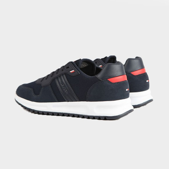 Tommy Hilfiger Mens Blue Modern Corporate Trainer main image