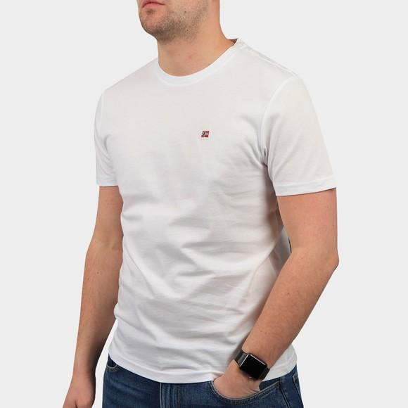 Napapijri Mens White Salis T Shirt