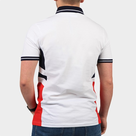 Fila Mens White Opal Polo Shirt main image
