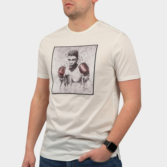 Limitato Mens White Bee T-Shirt