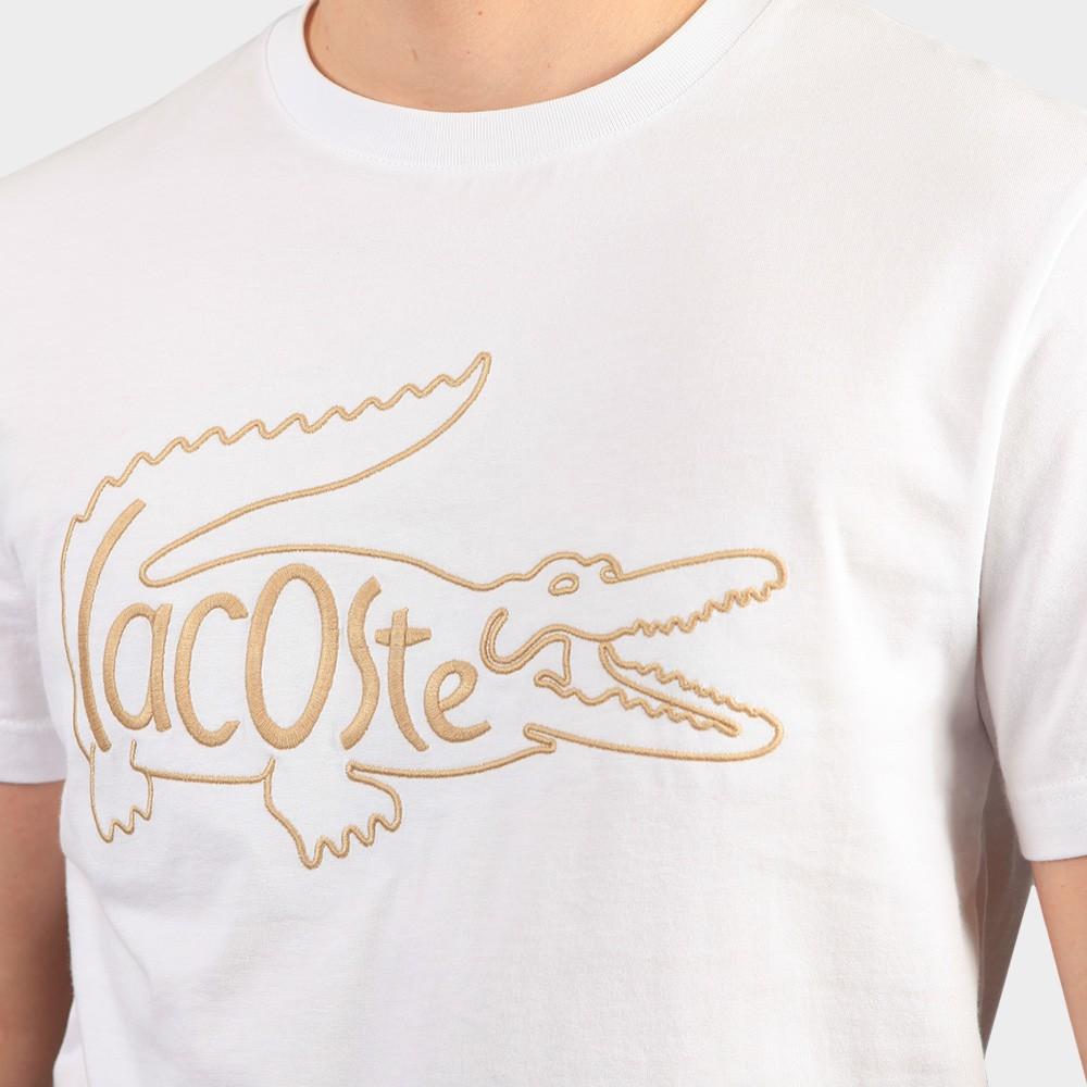 TH0051 Crocodile Embroidery T-Shirt main image