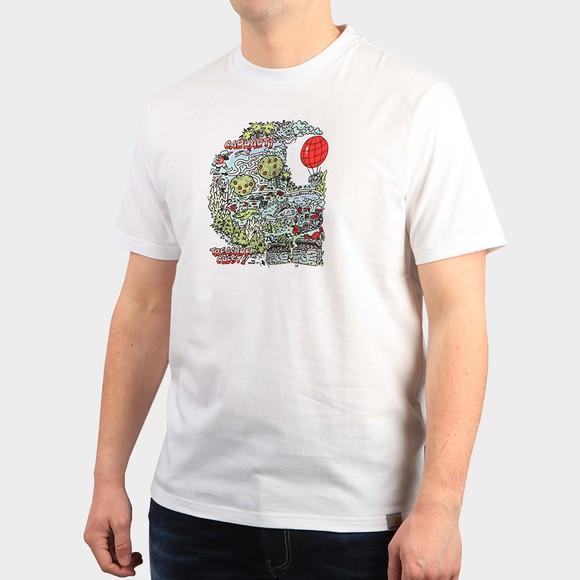 Carhartt WIP Mens White Treasure T Shirt