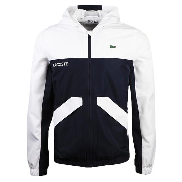 Lacoste Sport Mens Blue BH9556 Colourblock Jacket