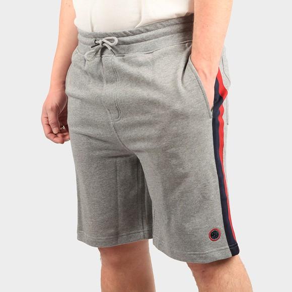Pretty Green Mens Grey Tilby Sweat Shorts main image