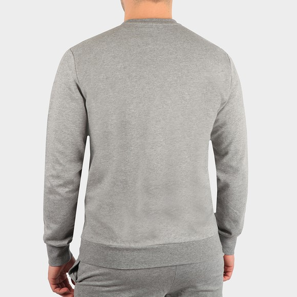 EA7 Emporio Armani Mens Grey Large Logo Hex Sweatshirt main image