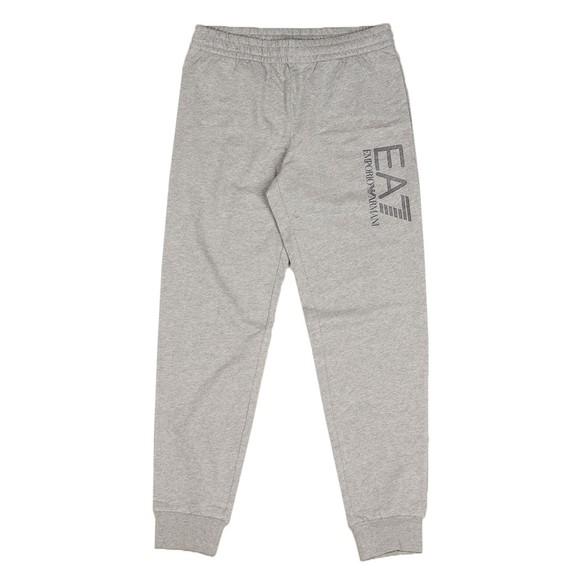 EA7 Emporio Armani Mens Grey Hex Logo Jogger