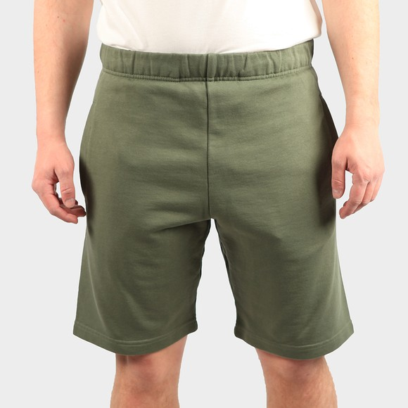Carhartt WIP Mens Green Pocket Sweat Short