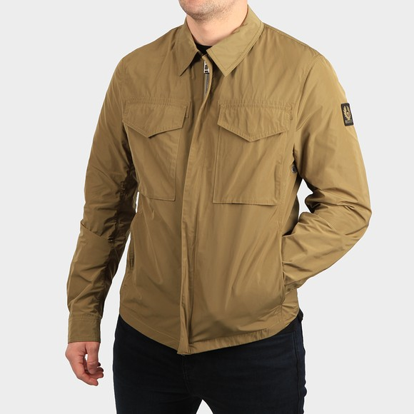 Belstaff Mens Green Command Overshirt