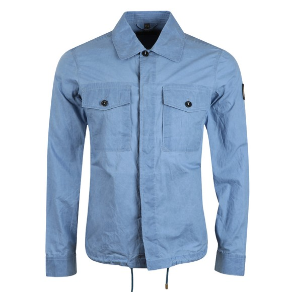 Belstaff Mens Blue Recon Overshirt