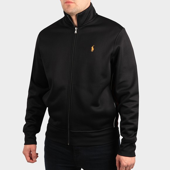 Polo Ralph Lauren Mens Black Lunar New Year Track Jacket