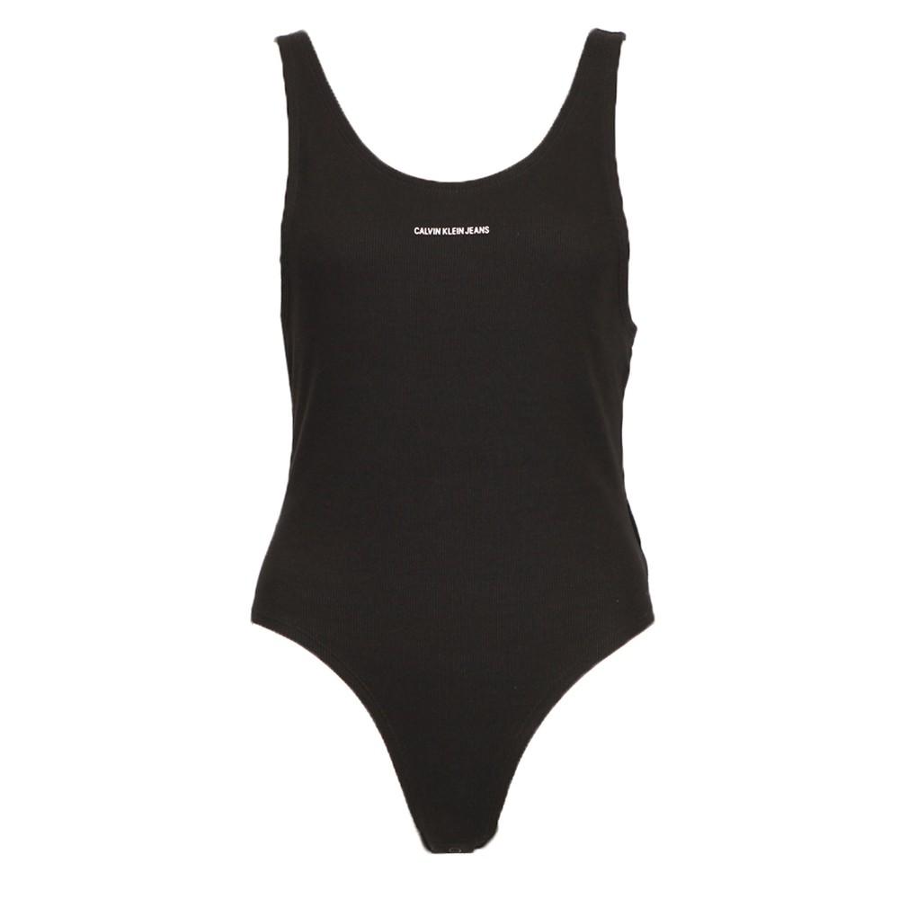 Micro Branding Rib Bodysuit main image
