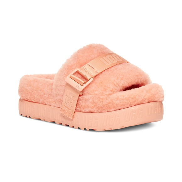 Ugg Womens Pink Fluffita Slipper
