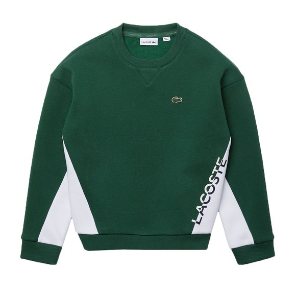Lacoste Boys Green SJ2298 Sweatshirt