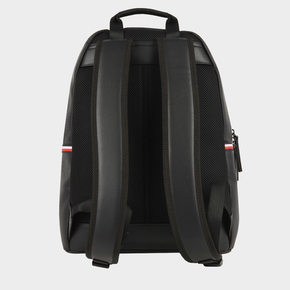 Tommy Hilfiger Mens Black Essential PU Backpack main image