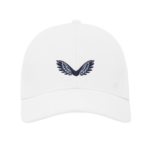 Castore Mens White Ghost Cap