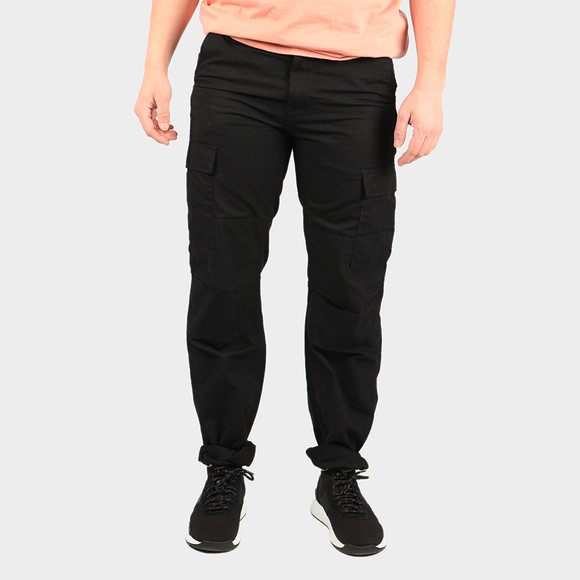 Carhartt WIP Mens Black Aviation Cargo Trouser