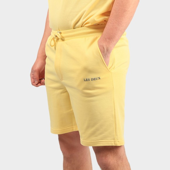 Les Deux Mens Yellow Lens Sweat Short