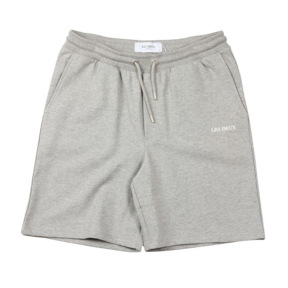 Les Deux Mens Grey Lens Sweat Short