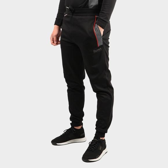 BOSS Bodywear Mens Black Panel Detail Jogger