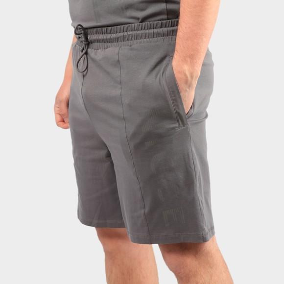 Nicce Mens Grey Sprint Jog Shorts
