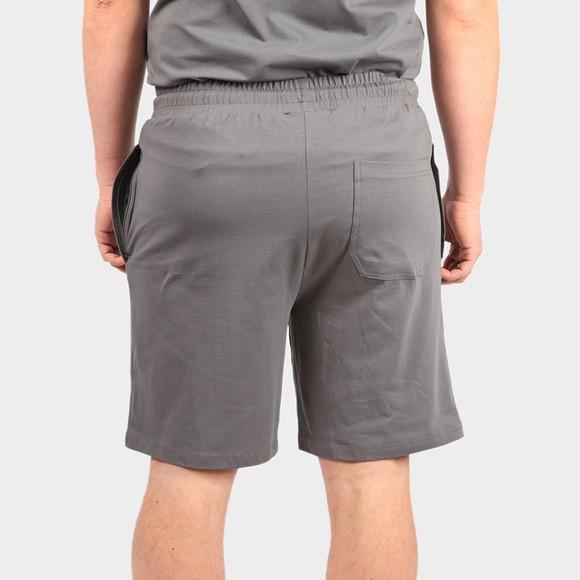 Nicce Mens Grey Sprint Jog Shorts main image