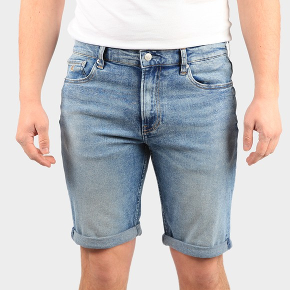 Calvin Klein Jeans Mens Blue Slim Denim Short