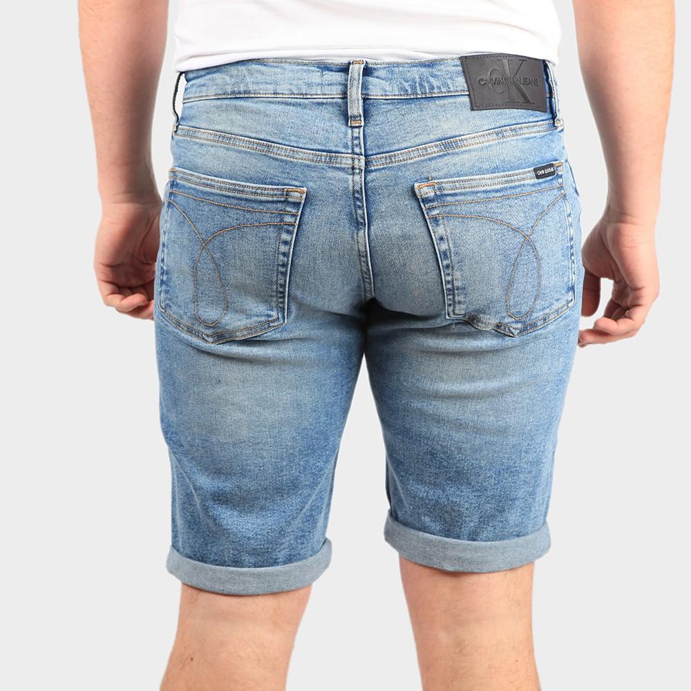 Slim Denim Short main image