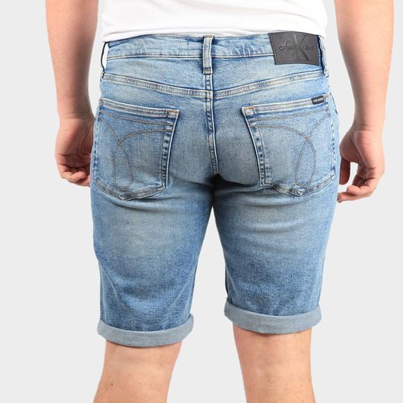Calvin Klein Jeans Mens Blue Slim Denim Short main image