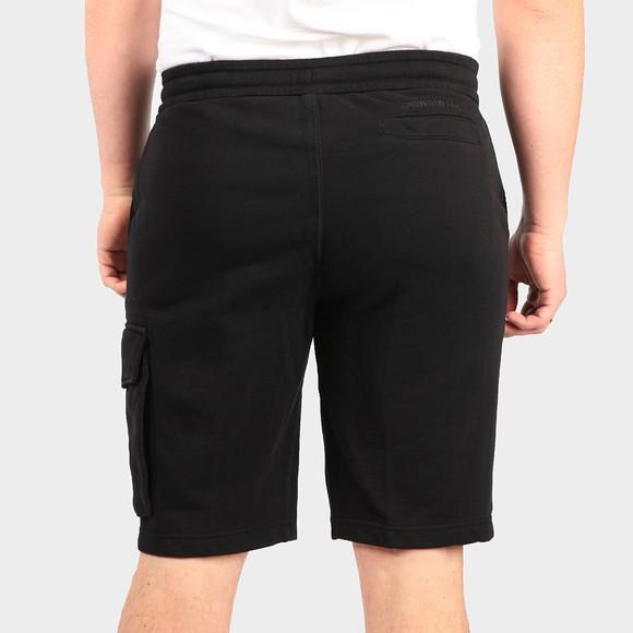 Calvin Klein Jeans Mens Black Monogram Sweat Short main image