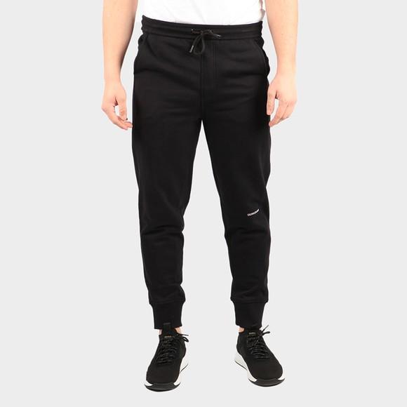 Calvin Klein Jeans Mens Black Micro Branding Jogger main image