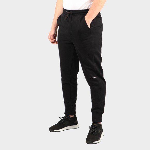 Calvin Klein Jeans Mens Black Micro Branding Jogger