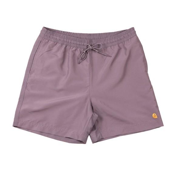 Carhartt WIP Mens Purple Chase Swim Short