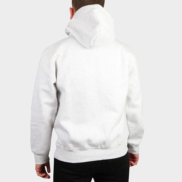 Carhartt WIP Mens Grey Hooded Carhartt Sweatshirt main image