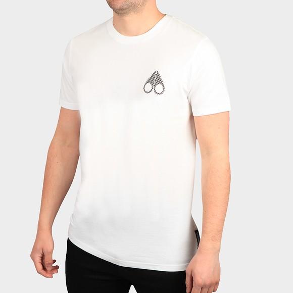 Moose Knuckles Mens White Cassettes T Shirt