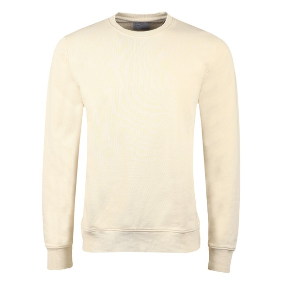 Colorful Standard Mens Off-White Organic Crew Sweatshirt