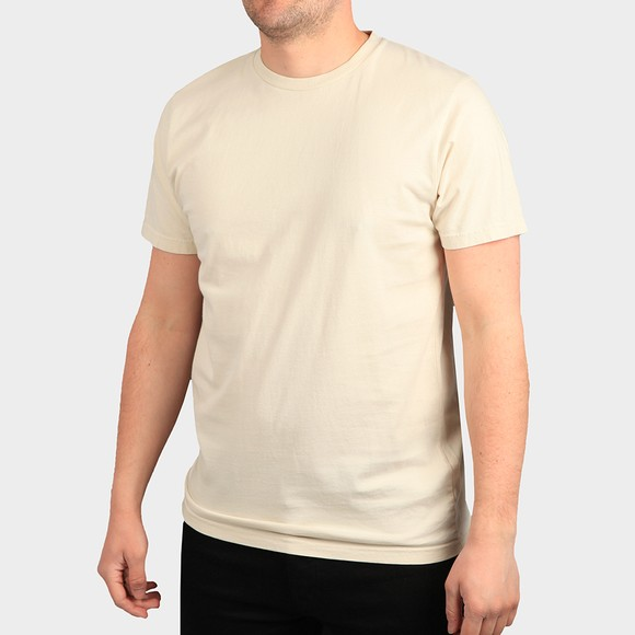 Colorful Standard Mens Off-White Organic T-Shirt main image