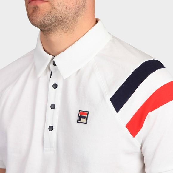 Fila Mens White Gabriel Polo Shirt main image