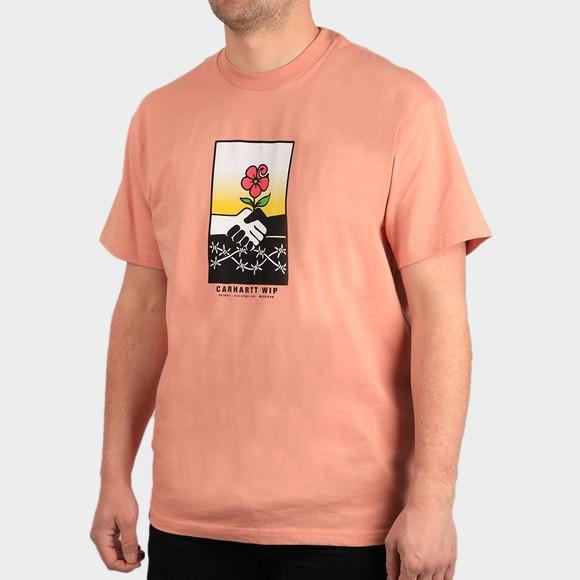 Carhartt WIP Mens Orange Together T Shirt