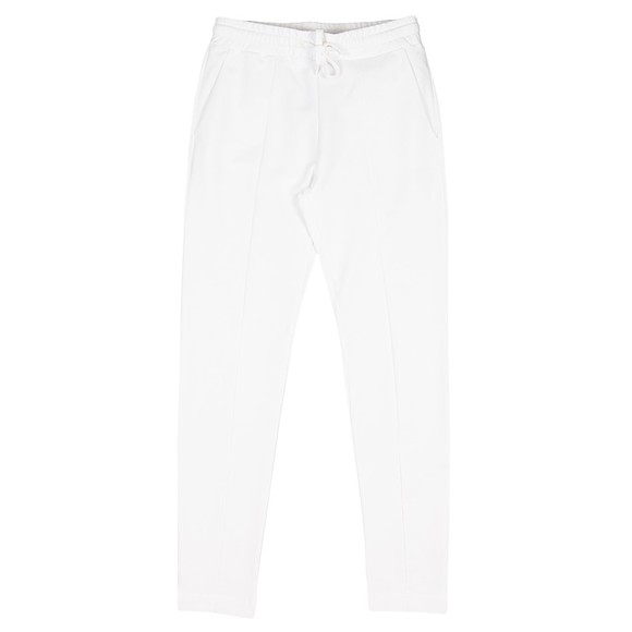 Love Moschino Womens White Established Logo Sweatpant