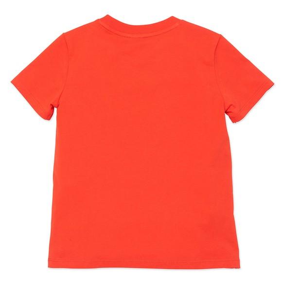 Kenzo Kids Boys Red K25115 Printed Tiger T Shirt