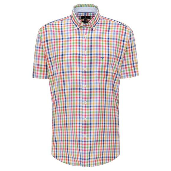 Fynch Hatton Mens Multicoloured Summer Story SS Shirt