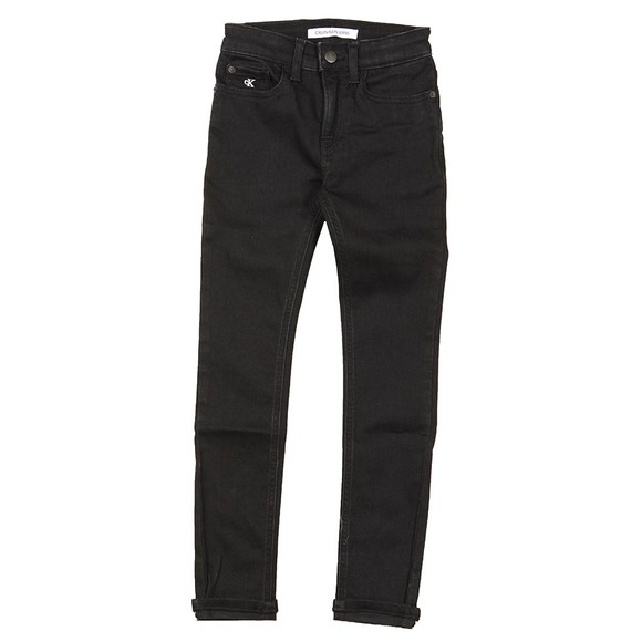 Calvin Klein Jeans Boys Black Skinny Stretch Jean