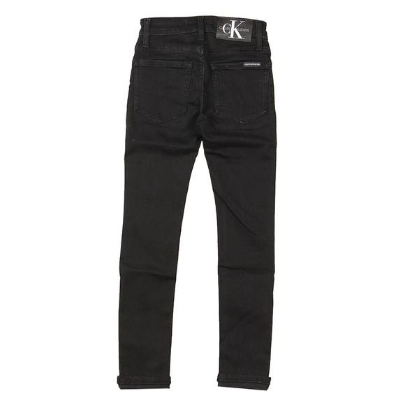 Calvin Klein Jeans Boys Black Skinny Stretch Jean main image