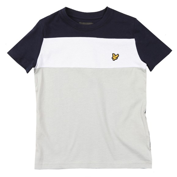 Lyle And Scott Junior Boys Blue 3 Panel T Shirt main image