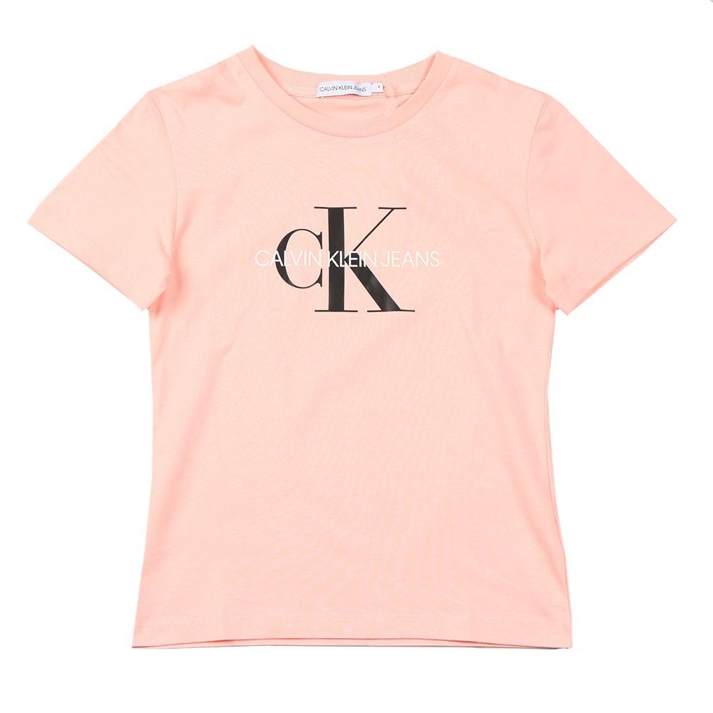 Girls Monogram Logo T Shirt main image
