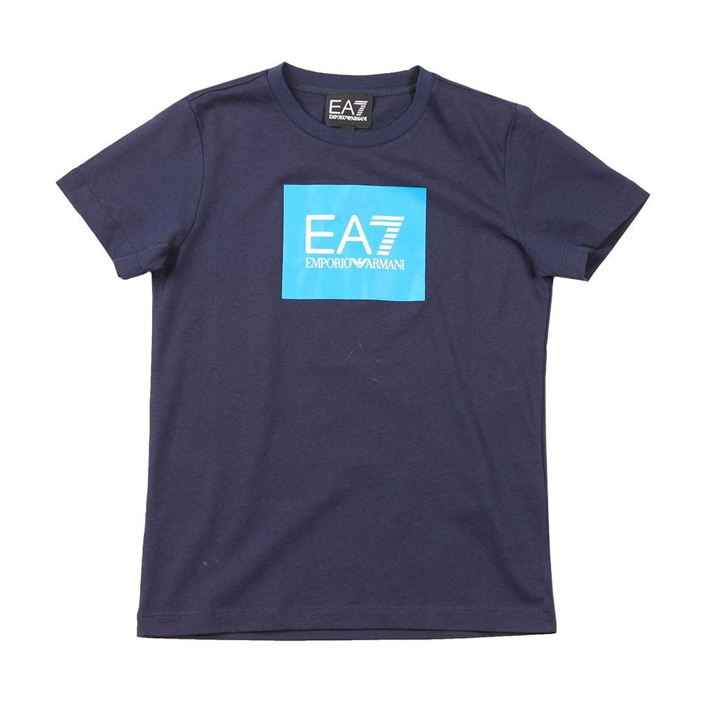 Colour Block Box Logo T Shirt main image